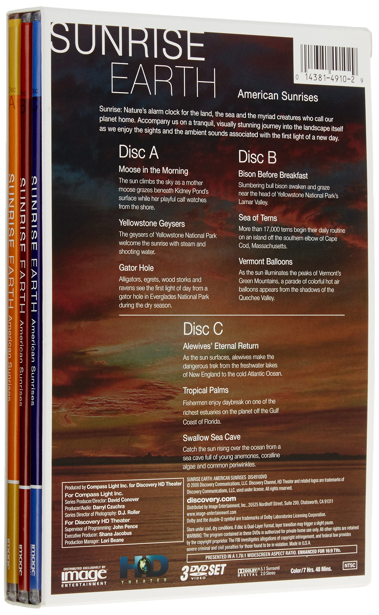 Sunrise Earth: American Sunrises