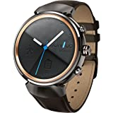 ASUS ZenWatch 3 Smartwatch with Leather Bracelet – Gun Metal