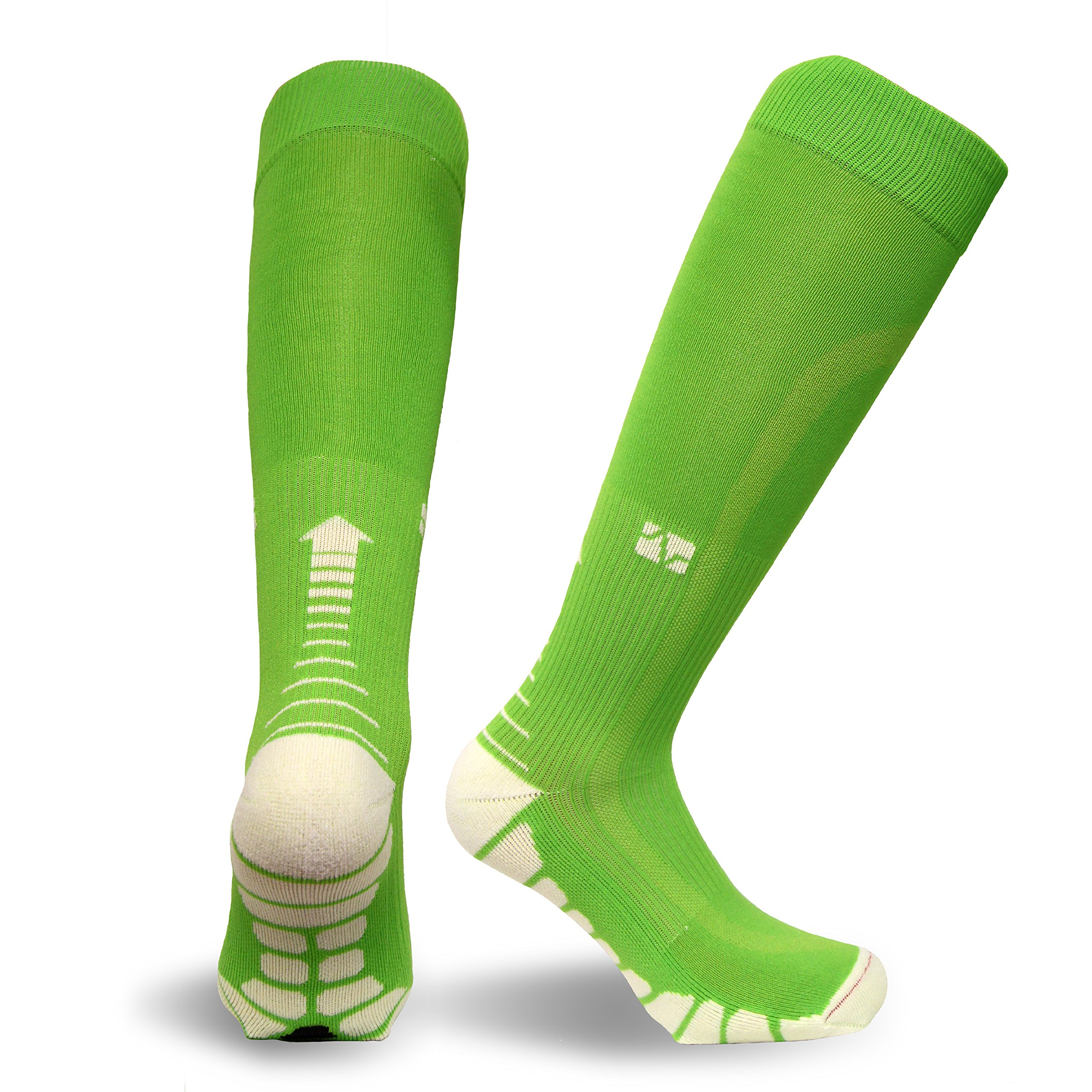 Vitalsox Italy-Patented Compression VT1211,X-Small,Lime Green