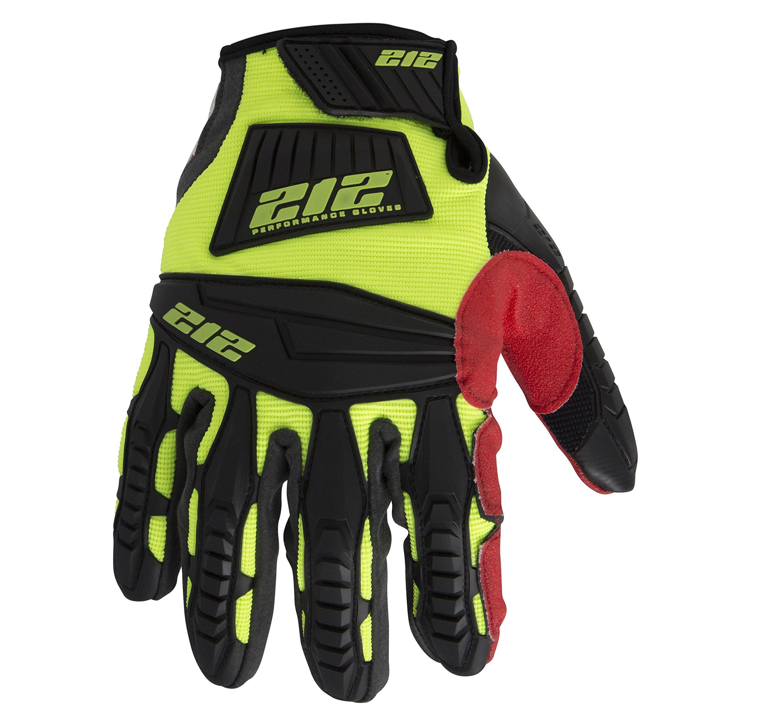212 Performance Gloves IMP-88-009 Super Hi-Vis Impact Gloves, Medium by 212 Performance Gloves (Image #3)