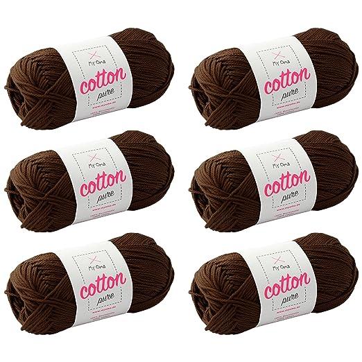 Baumwolle Häkeln Myoma Cotton Pure Kakao Fb 0227 Baumwollgarn