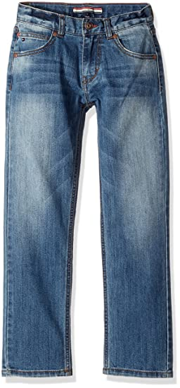 3086b988666 Amazon.com  Tommy Hilfiger Boys  Big Stretch Denim Jeans  Clothing
