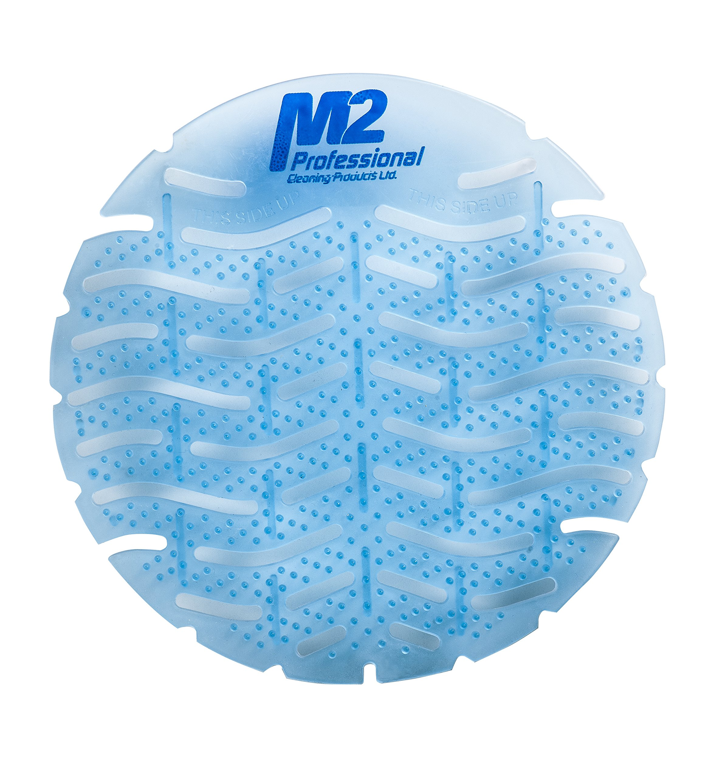 M2 Professional WAVE Scented Urinal Screen and Deodorizer - Ocean Breeze (Case of 12)
