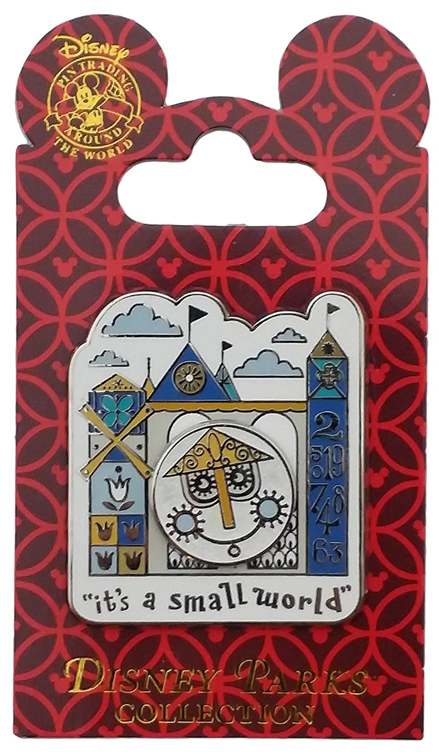 Disney Pin - It's a Small World Clock