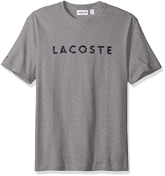 6b1c925c Lacoste Men's 3D Graphic Short Sleeve T-Shirt, TH1895-51