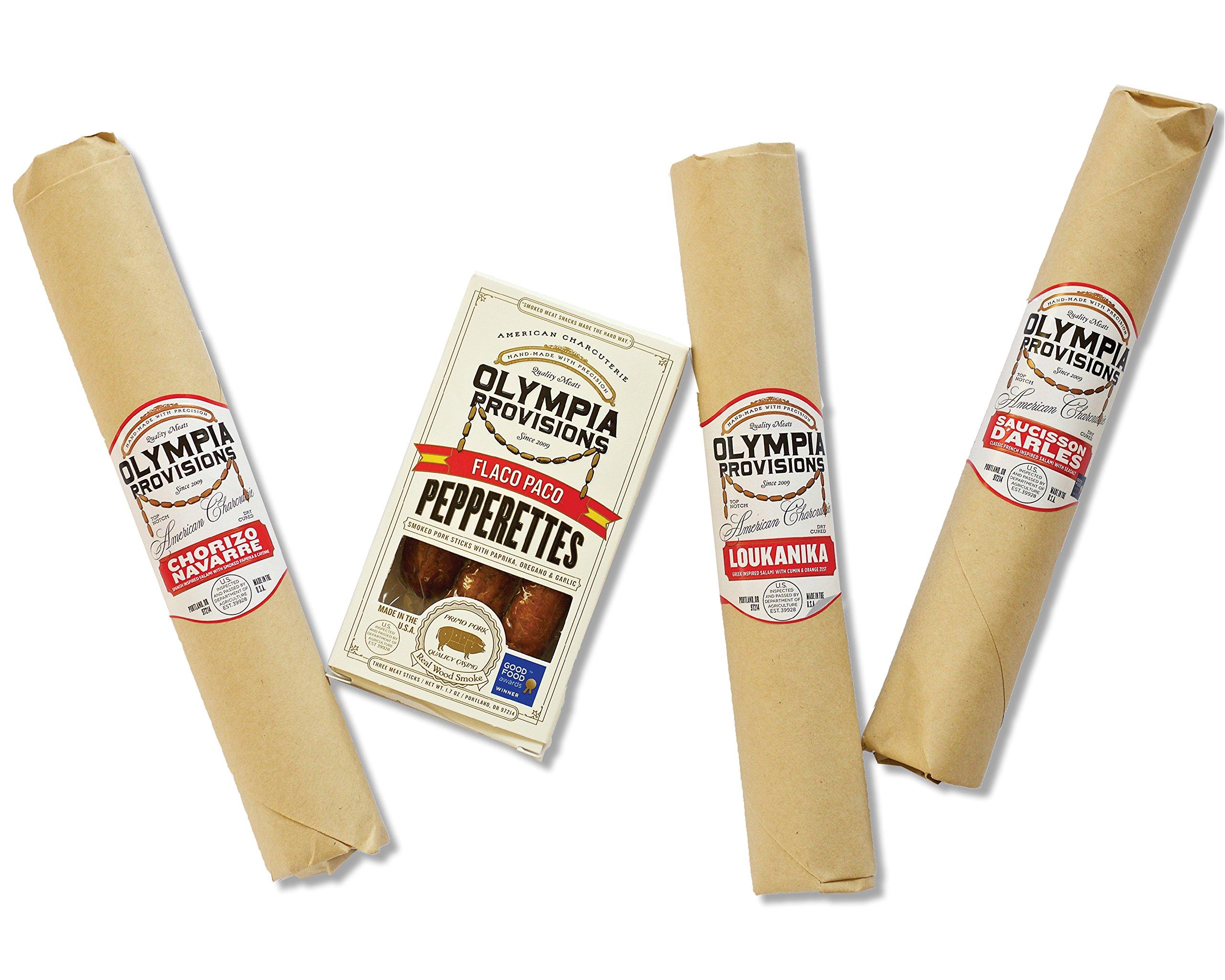Olympia Provisions Petite Good Food Award Winning Charcuterie Gift Box