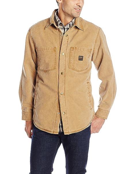 3c7533621 Amazon.com: Walls Men's Bandera Vintage Duck Shirt Jacket: Clothing