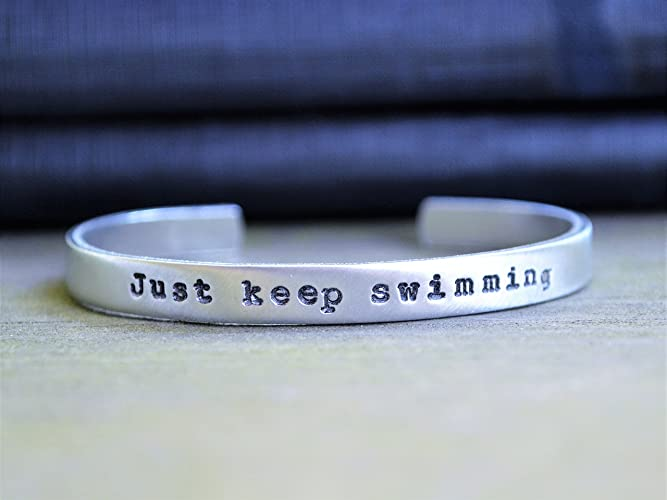 amazon com just keep swimming bracelet finding nemo quotes 22 nice dory quotes images. Black Bedroom Furniture Sets. Home Design Ideas