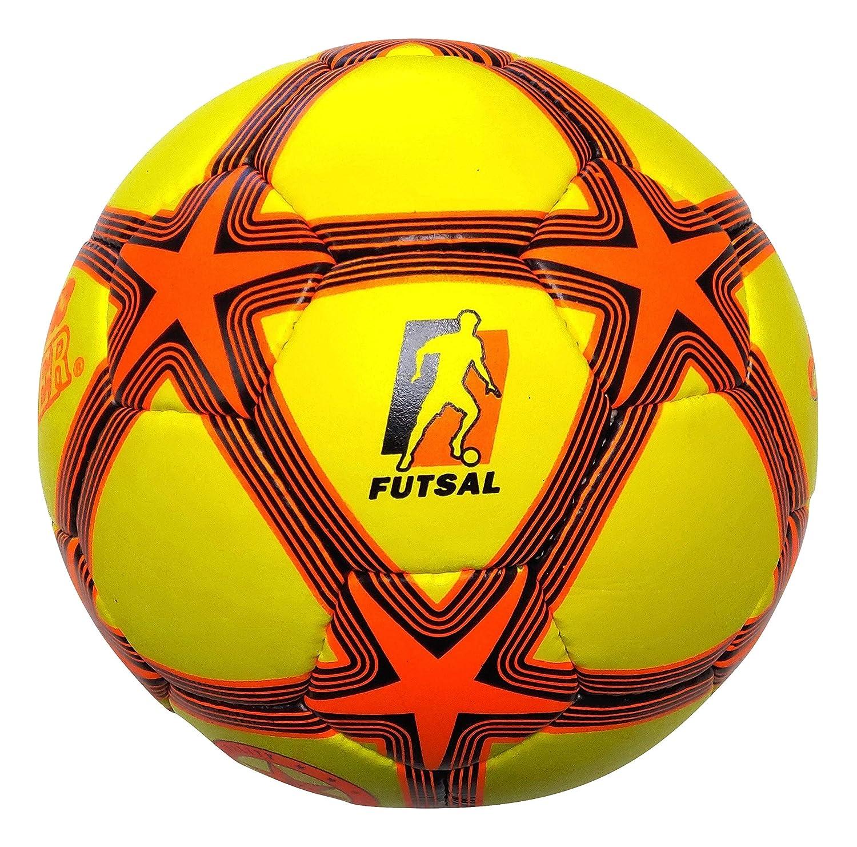 Oficial Bajo rebote balón de fútbol sala, color amarillo plata ...