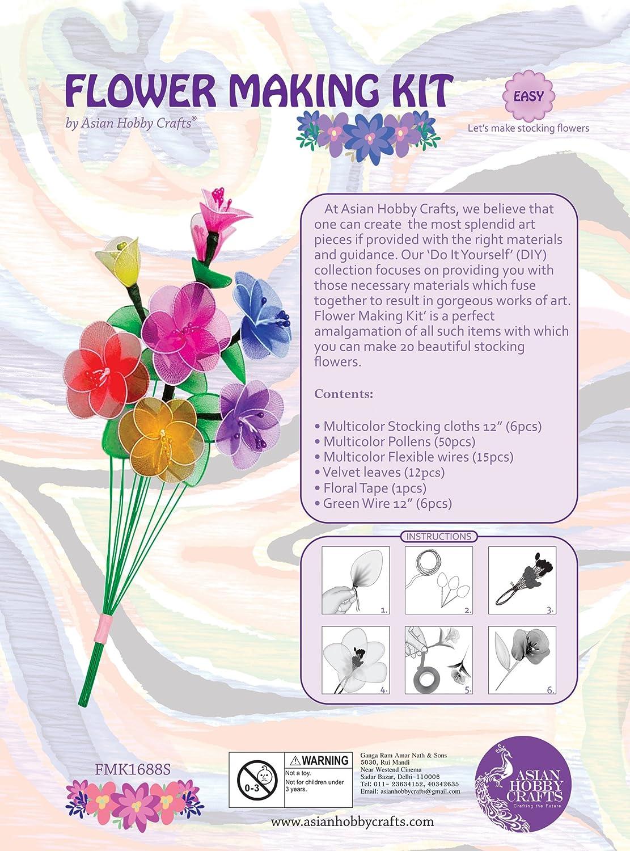 Buy asian hobby crafts mini flower making kit online at low prices buy asian hobby crafts mini flower making kit online at low prices in india amazon solutioingenieria Choice Image