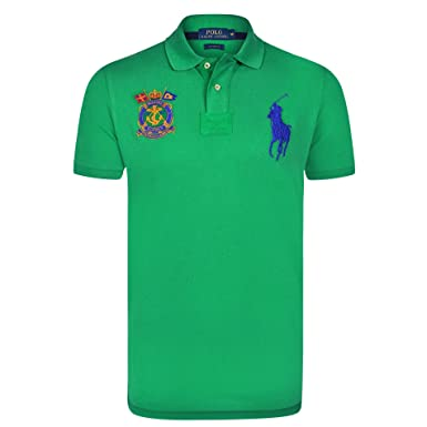 Ralph Lauren Polo para Hombre - Color Verde Stem - Big Pony Blue ...