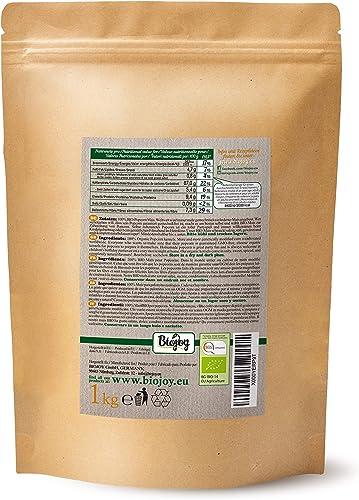 Biojoy Maiz para palomitas orgánico, sin OGM (1 kg): Amazon.es: Alimentación y bebidas