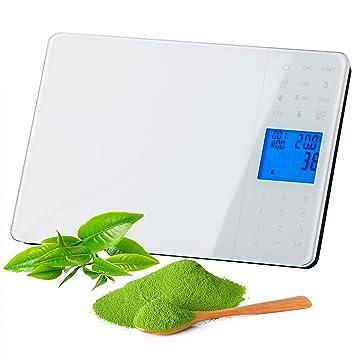 Tzs first austria - Báscula digital de comida para diabéticos, con dieta por unidades alimenticias: Amazon.es: Hogar