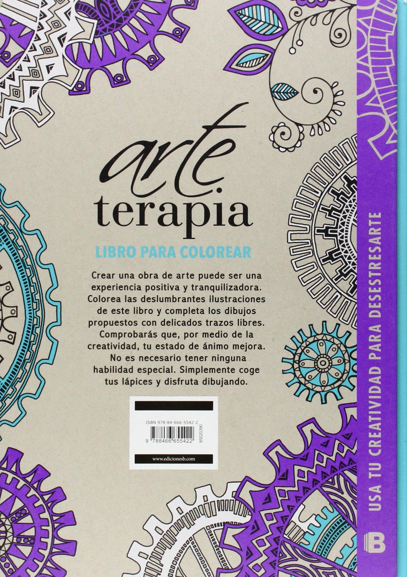 Arte terapia - para desestresarte (Lila): Amazon.es: Varios autores ...