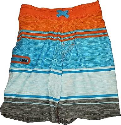 Wonder Nation Clothing Americana Stripes Blue Cove Swim Short Trunks