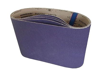 "7-7//8/"" X 29-1//2/"" Premium A//O Floor Sanding Belts Variety Pack 10 Belts"