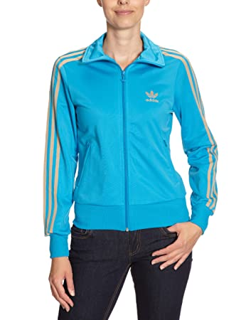 05996bf612e01 adidas Firebird Women's Tracksuit Jacket, O57516 blue sharp blue/clear sand  Size:10