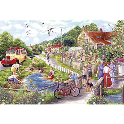 Gibsons Summer by The Stream Puzzle - Puzzle (250 XL): Juguetes y juegos