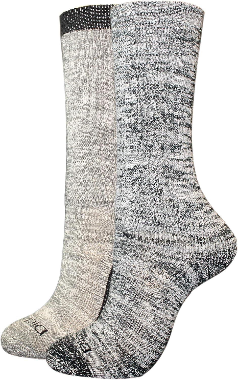 Dickies womens Traditional Wool Blend Engineered Comfort Crew Socks