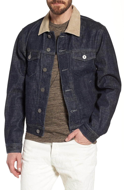 [ジェームス パース] メンズ ジャケットブルゾン James Perse Selvedge Regular Fit Denim J [並行輸入品] B07C2L1QCJ 5(xxl)