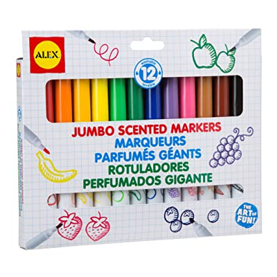 ALEX Toys Artist Studio 12 Jumbo Scented Markers: Toys & Games