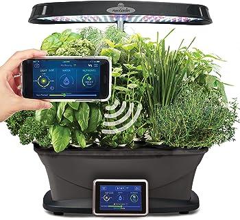 AeroGarden Bounty Elite Wi-Fi with Gourmet Herbs Seed Pod Kit