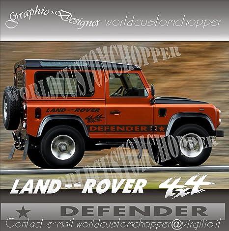 Kit Adesivi Stickers Fuoristrada Land Rover Defender 4x4 Off Road