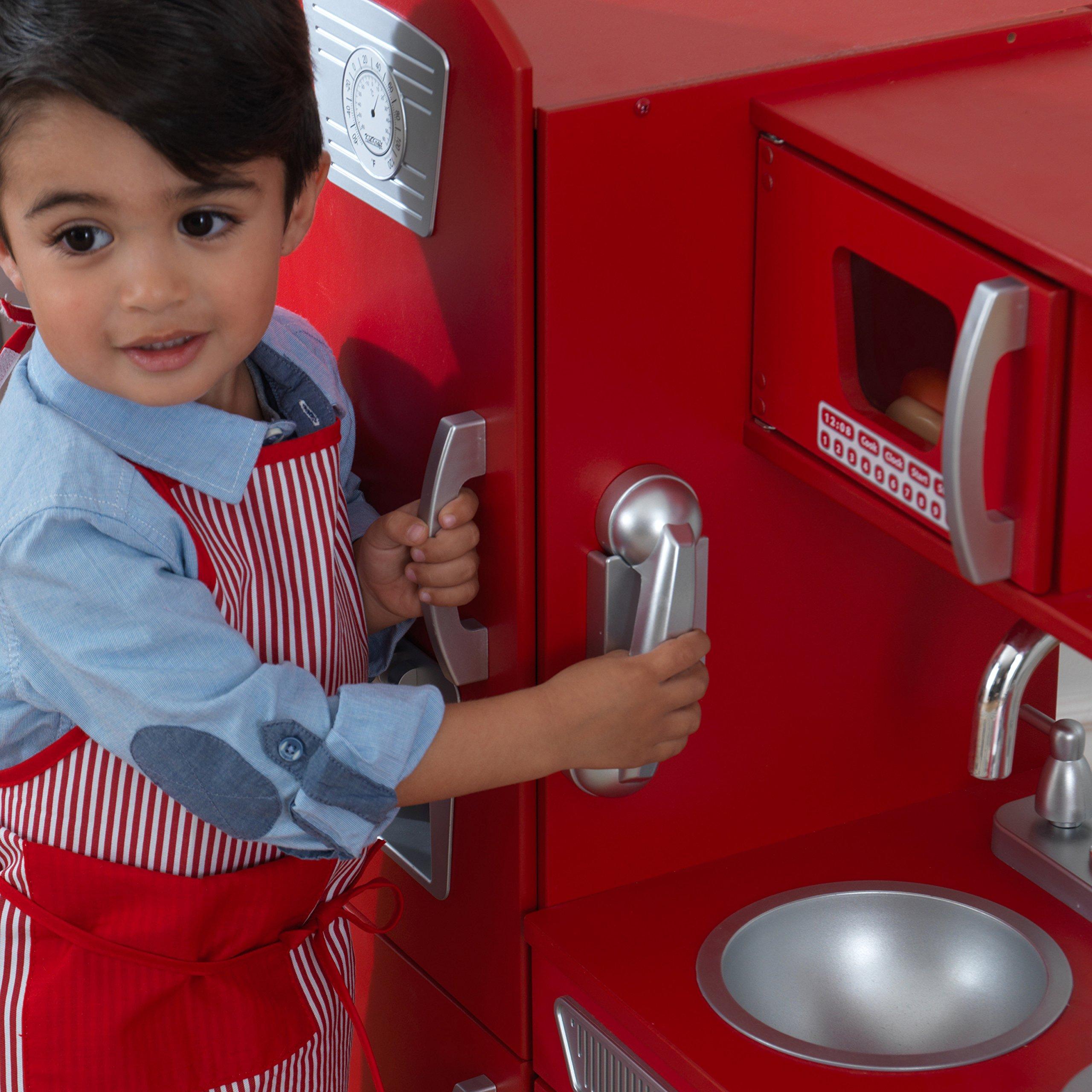KidKraft Vintage Play Kitchen - Red by KidKraft (Image #11)