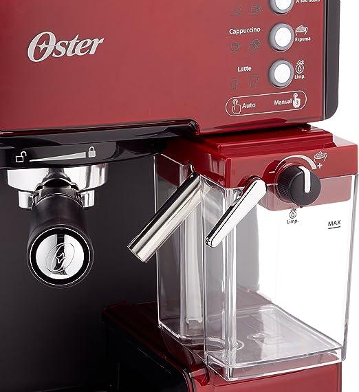 Oster Prima Cafetera automática para Cappuccino, Latte y Espresso ...