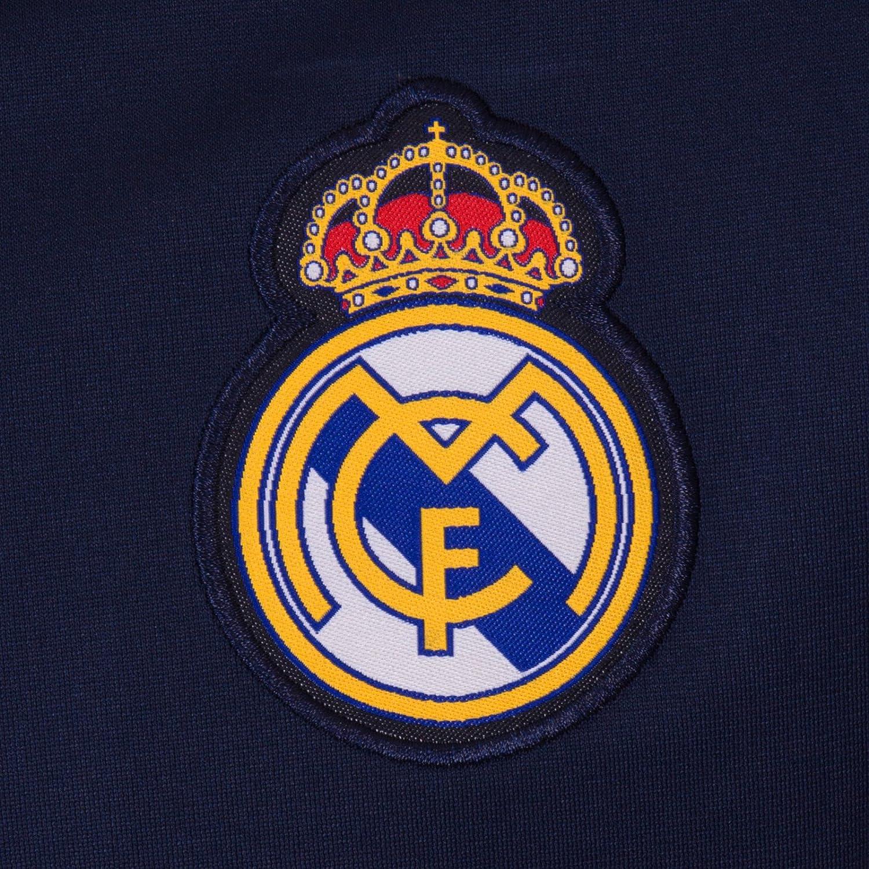 Real Madrid - Chaqueta de Entrenamiento Oficial - para Hombre - Estilo Retro 530b4112fd076