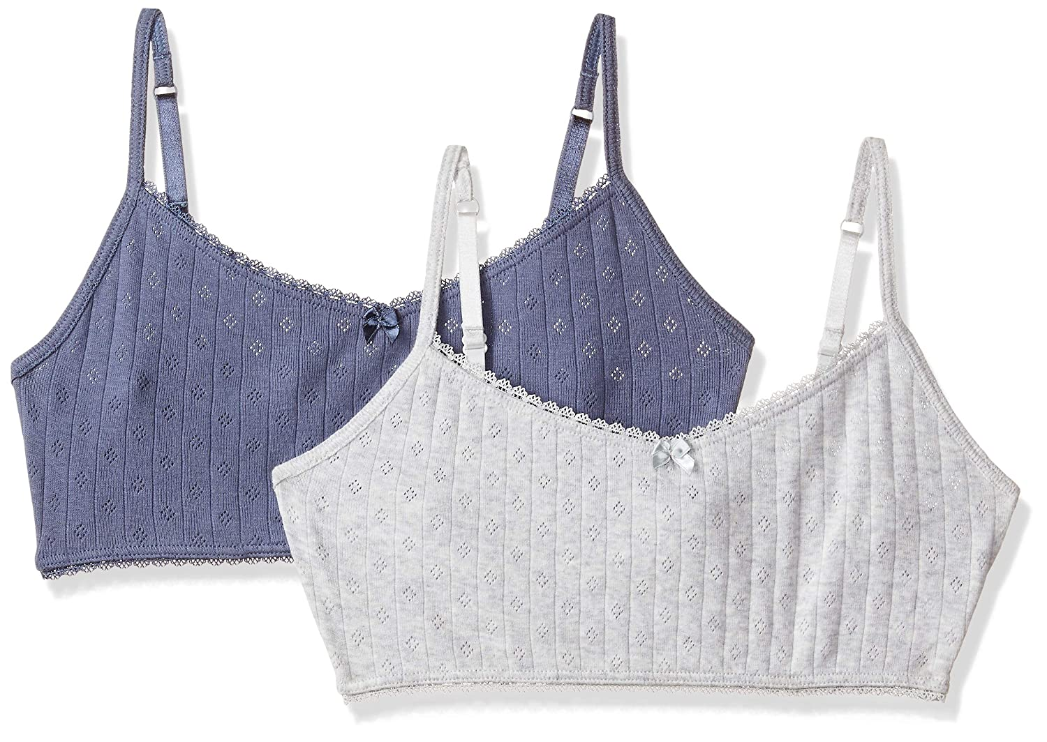 faf636c252 Marks   Spencer Girls  Regular Fit Plain Sports Bra (Pack of 2)  Amazon.in   Clothing   Accessories