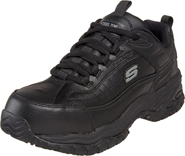 Work Men's Soft Stride Steel Toe