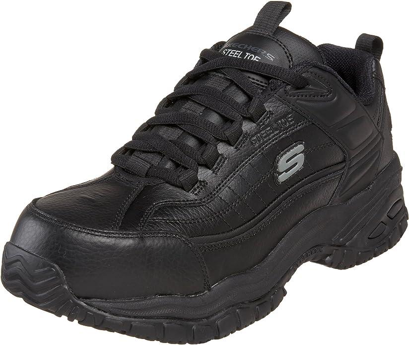 Soft Stride Steel Toe Work Shoe