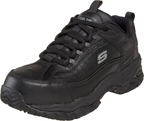 Skechers for Work Men's Soft Stride Steel Toe Work Shoe