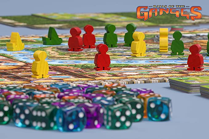 HUCH! -Rajas of The Ganges Modelo 879783: Brand, Inka, Brand, Markus: Amazon.es: Juguetes y juegos