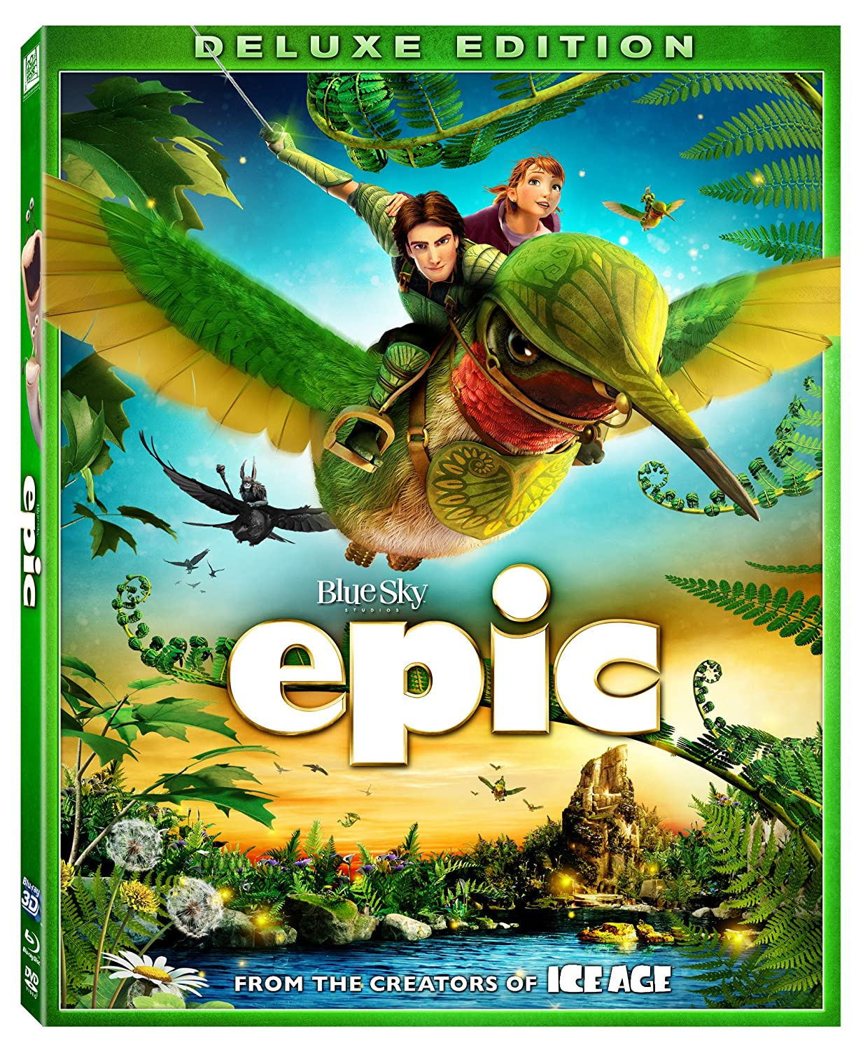 Amazon Com Epic Blu Ray 3d Combo Pack 2013 Colin Farrell Josh Hutcherson Amanda Seyfried Aziz Ansari Beyonce Knowles Movies Tv