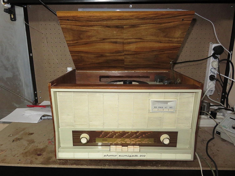 ANTIGUA RADIO TOCADISCOS EUMIG PHONO-EUMIGETT 300 1961: Amazon.es ...