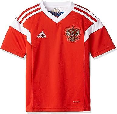 adidas Rusia Camiseta de Equipación, Niños: Amazon.es: Deportes y ...