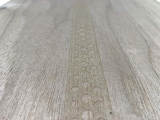 Modellbau Restauration zum Basteln Intarsien 15-19 aromatische Furniere in der Holzart Zeder Furnier geeignet f/ür
