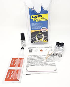 ATG Set de reparación de Llantas Re llenador Especial para danos Superficiales en rines de aleación
