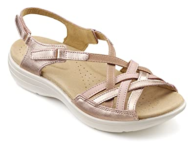 84f3a08026b9 Hotter Womens Maisie Extra Wide Rose Gold 5 UK  Amazon.co.uk  Shoes ...