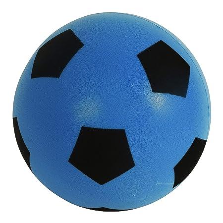 Balón de fútbol (espuma, talla 5), azul: Amazon.es: Electrónica