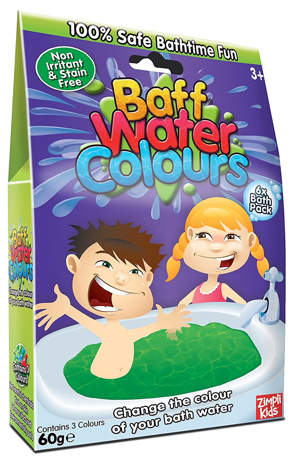 Buy Simba Baff Water Colours 6 Bath Pack 60 Grams Online At Low