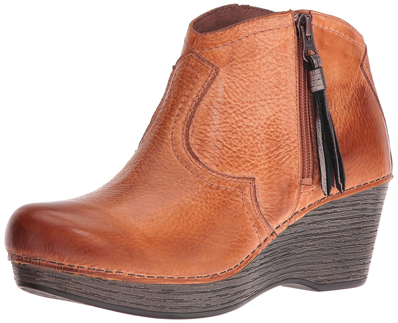 Dansko Women's Veronica Ankle Bootie B01HHCB83Q 42 EU/11.5-12 M US|Honey Distressed