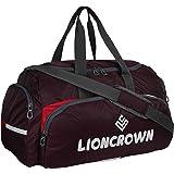 Lioncrown Peru Polyester 55 cms Cabin Travel Duffel Bag (Purple)