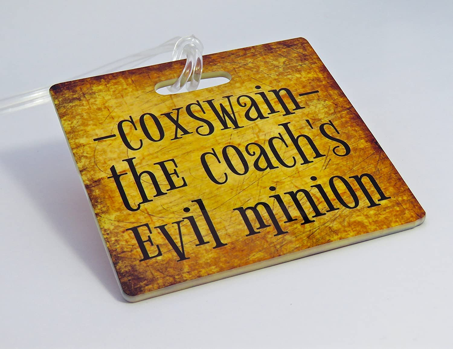 Coxswain Bag Tag