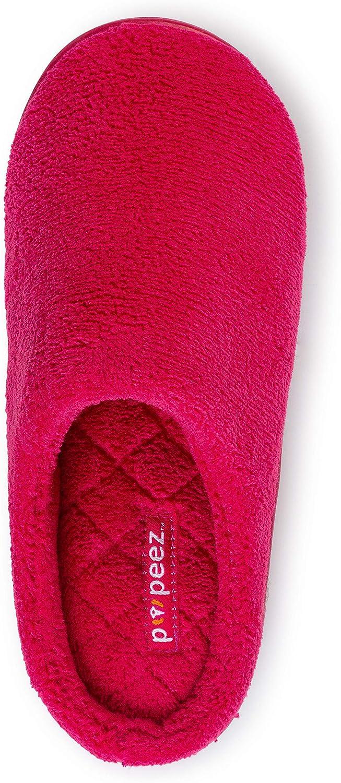Pupeez Girls Classic Terry Clog Slippers