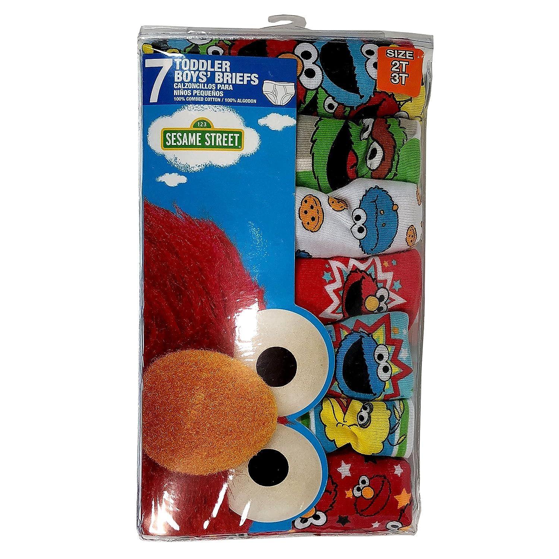Sesame Street Big Boys 7 Pack-Boy