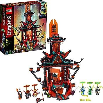 Comprar LEGO Ninjago - Templo Imperial de la Locura, Set de Construcción de Edificio de Juguete para Recrear Aventuras, Incluye Minifiguras de Digi Jay, Lloyd y Cole, entre Otros (71712)