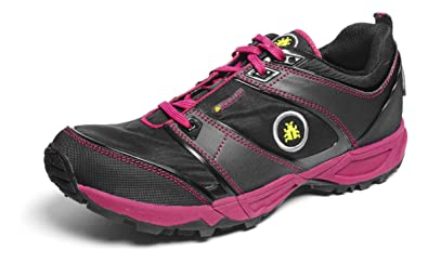 Icebug Women's Pytho2-l Bugrip Running Shoe,Black/Cherry,5.5 ...